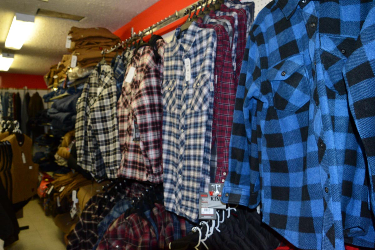 mens clothing in vernon bc